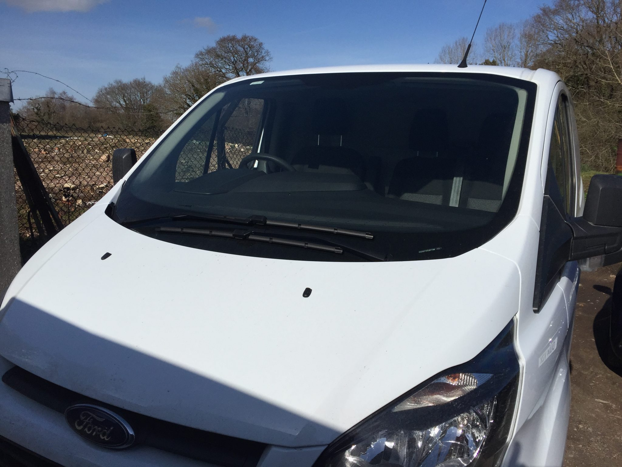 ford transit custom windscreen
