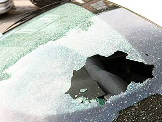 Smashed Glass Rear Windscreen, Doorglass, Side Window, Replacement glass for Cars and Vans